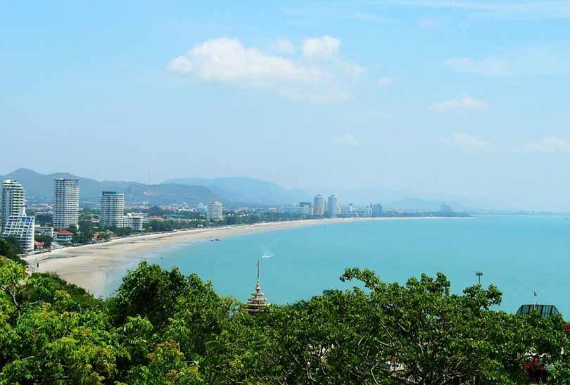 flot udsigt over Hua Hin