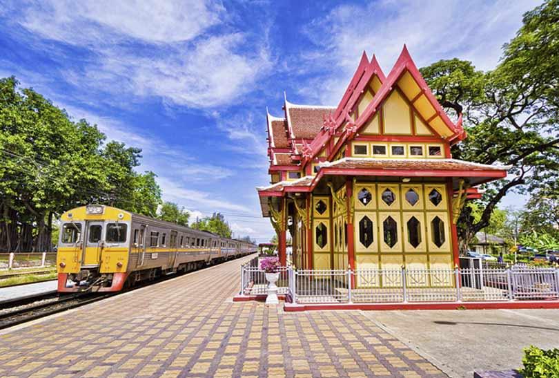 Den gamle jernbane Hua HIn