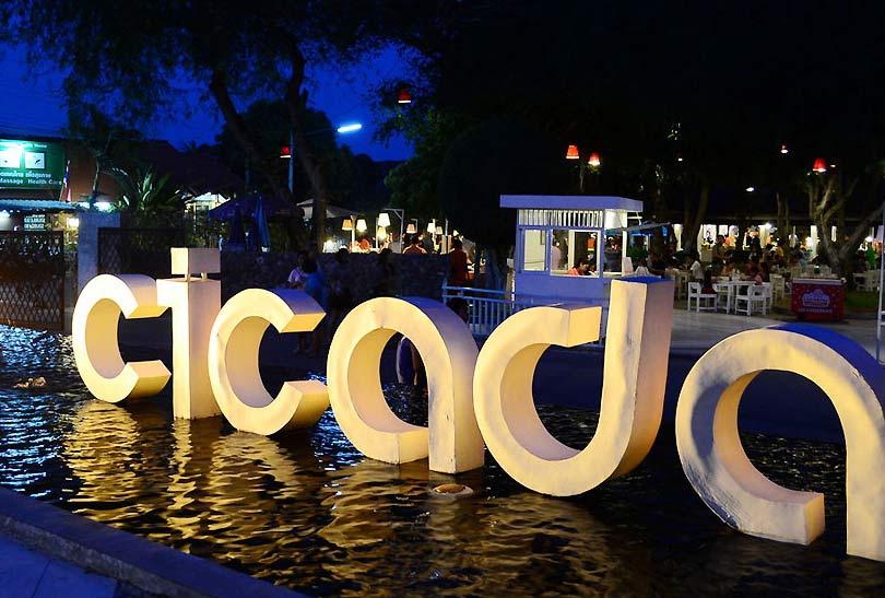 The popular Cicada night market Hua Hin