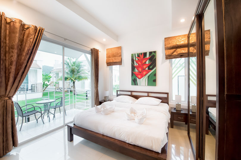 2 bedroom deluxe pool villa in hua hin from 35 for Outdoor furniture hua hin