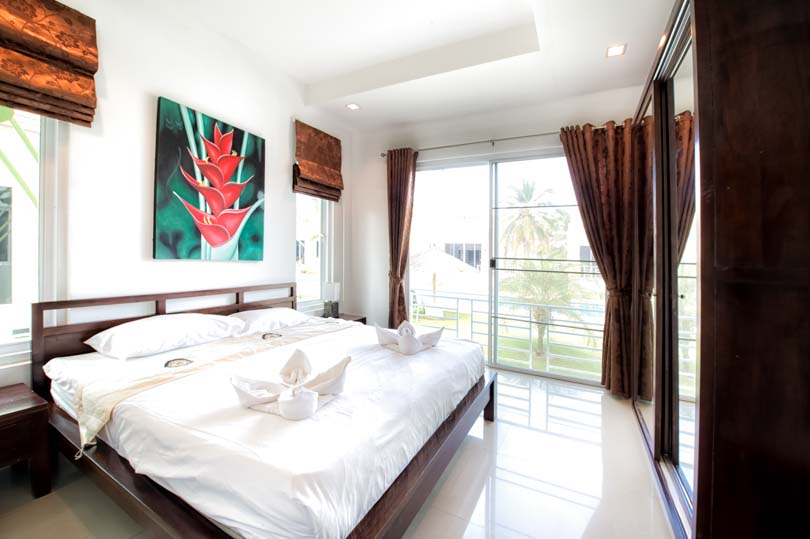 bedroom villa