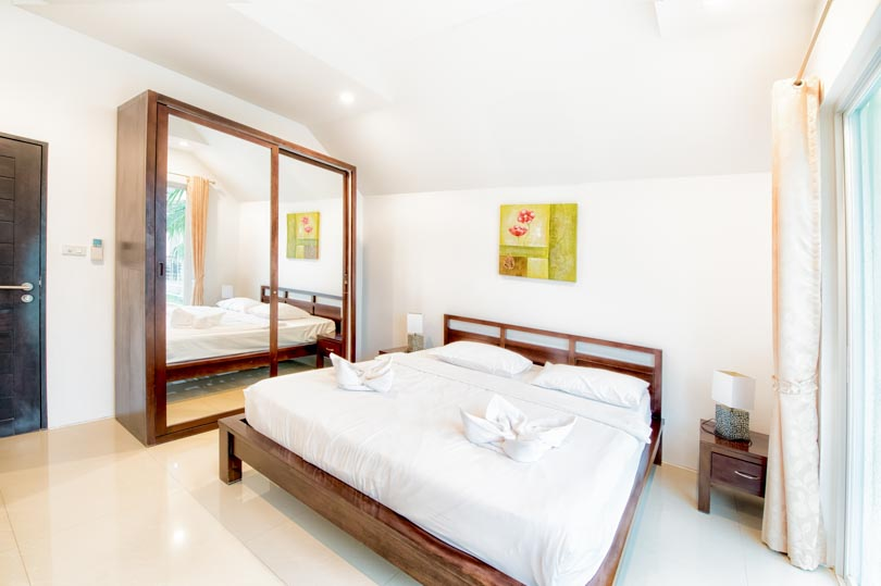 Hua Hin villa bedroom